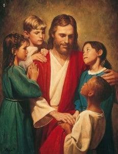Jesus-with-Children-divine-masculine