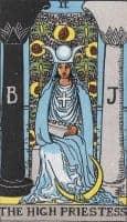 the high priestess archetype